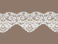 "Beige Scalloped Lace Trim - 3.5"" - (BG0312S01)"