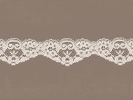 "Beige Scalloped Lace  - 2"" (BG0200S01)"