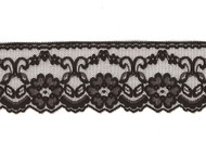 "Black Edge Lace - 2.5"" (BK0212E06)"