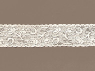 "Ivory Galloon Stretch Lace - 1.5"" (IV0112G01)"