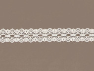 """Ivory Galloon Beading Lace - 1.125"""""""
