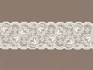 "Ivory Galloon Stretch Lace - 2.50"" (IV0212G02)"