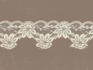 "Ivory Scalloped Lace -3"" (IV0300S02)"