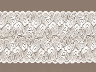 "Ivory Galloon Scoured Stretch Lace - 41/4"" (IV0414G02)"