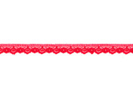 """Bright Red Edge Lace with Sheen - .5"""" (RD0012E04)"""
