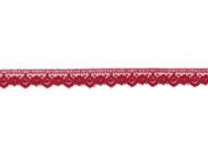 """Dark Red Edge Lace - .5"""" (RD0012E05)"""