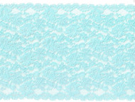 "Aqua Galloon Stretch Lace 7 "" - (AQ0734G01)"