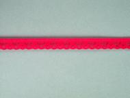 """Bright Fuchsia Edge Lace Trim - 0.375"""" (FS0038E02)"""