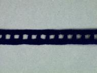 """Royal Blue Edge Lace Trim - Beading - 0.375"""" (RB0038E01)"""