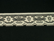 "Beige Edge Lace Trim - 0.75"" (BG0034E02)"