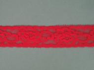"""Coral Pink Edge Lace Trim - 1.125"""" (CP0118E01)"""