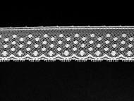 "White Edge Lace Trim - 1"" (WT0100E04)"
