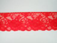 """Bright Fuchsia Edge Lace Trim - 2.75"""" (FS0234E01)"""