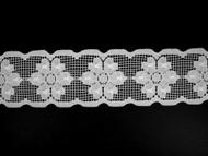 "White Galloon Lace Trim - 2.5"" (WT0212G01)"