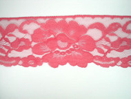 "Fuchsia Edge Lace Trim - 4"" (FS0400E01)"