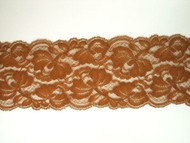 "Brown Galloon Lace Trim - 3.5"" (BN0312G01)"