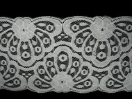 """Off White Galloon Lace Trim - 5.5"""" (WT0512G01)"""