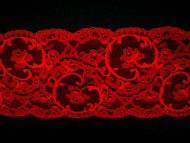 """Red Galloon Lace Trim - 4.75"""" (RD0434G01)"""