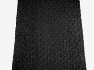 """Black Bubble Lace Fabric - 54"""" (BKAL03)"""
