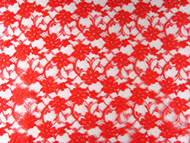 """Red Allover Lace - 58"""" (RDAL01)"""