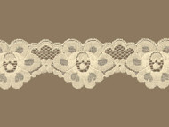 "Beige Scalloped Lace Trim - 2.5"" (BG0212S01)"