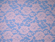 """Pink Allover Lace - 60"""" (PKAL01)"""