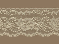 "Beige Edge Lace Trim - Stiff - 4.25"" (BG0414E01)"