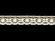 "Off White Edge Lace Trim - Cotton - 1.125"" (WT0118E05)"