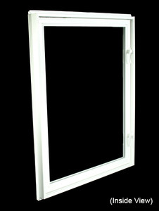 32 X 40 White Inswing Egress Casement Window (NVC3240W)