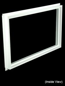 32 x 19-1/4 White Direct Set Windows (NVCF3220W)