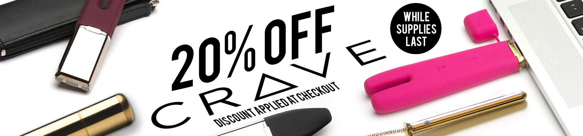 20% off Crave - While Supplies Last!