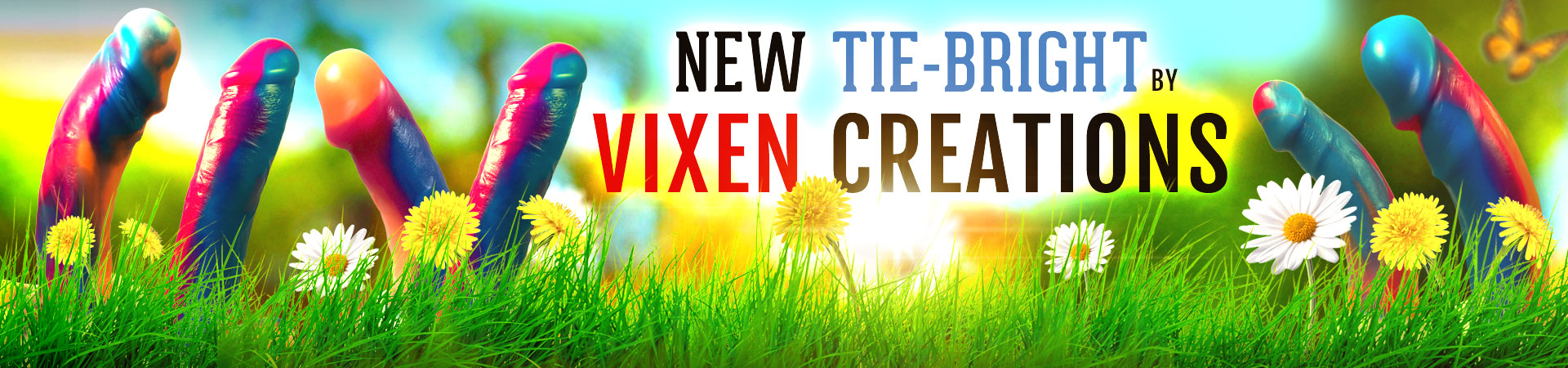 New Tie-Bright By Vixen Creations