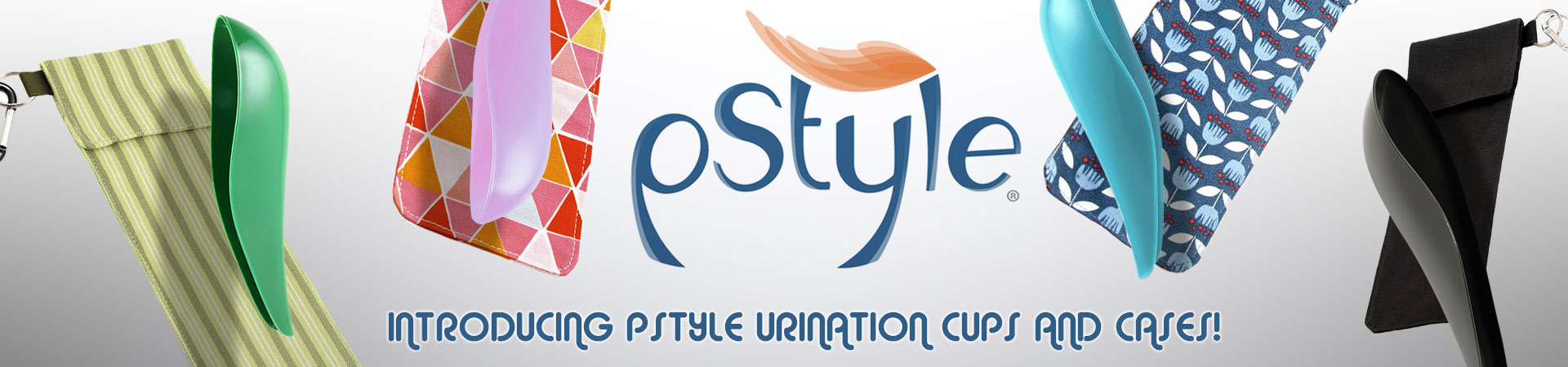 Introducing pStyle Urination Cups & Cases! The pStyle is a plastic device that allows you to pee, standing up, without undressing!