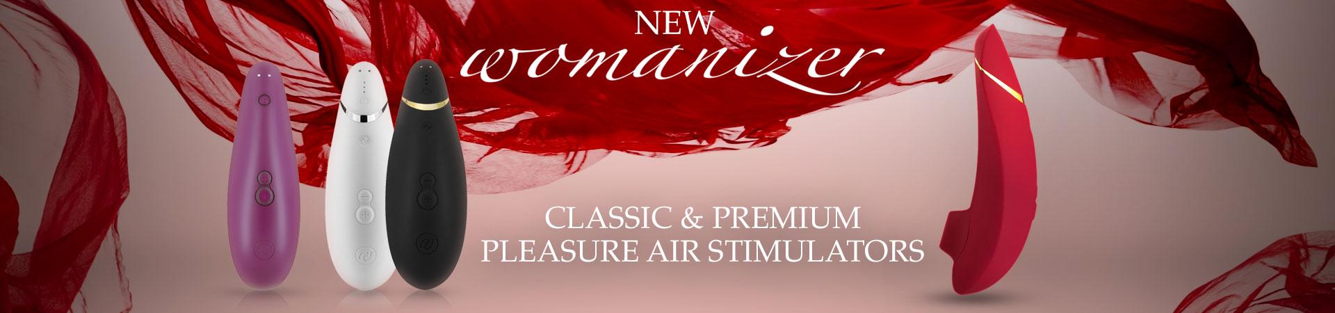 New Womanizer! Classic & Premium Pleasure Air Stimulators