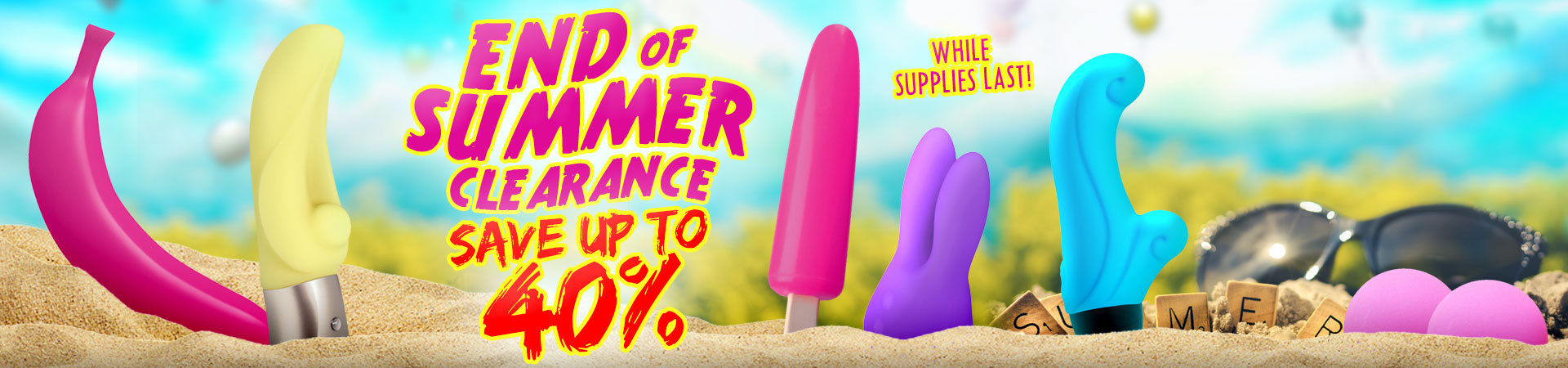 It's SheVibe's End Of Summer Clearance Sale! - Save Up To 40% On Select Items While Supplies Last!
