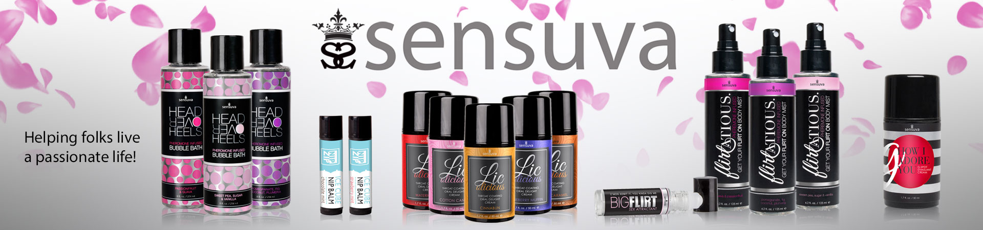 SENSUVA - Helping folks live a passionate life