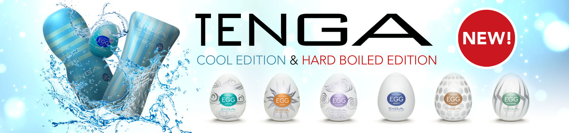 New From Tenga! Cool Edition & Hard Boiled Edition