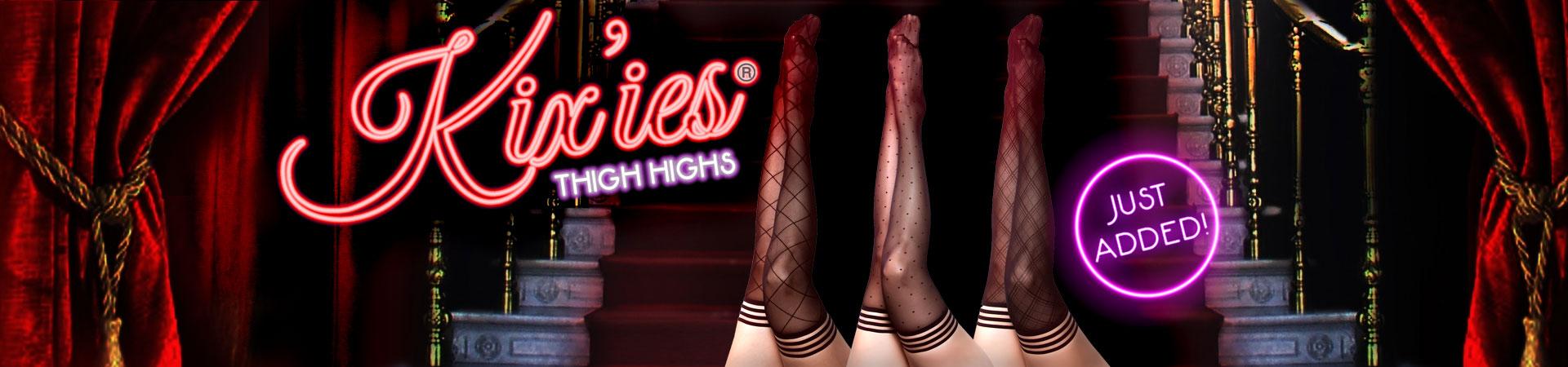 Hot New Kix'ies Thigh Highs!