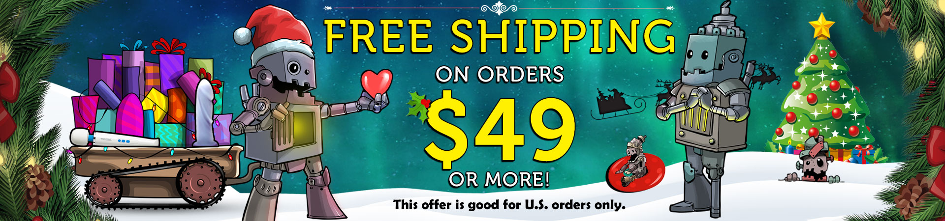 Steam Up Your Holiday Season With Lots Of Stuff That's Really Pleasin' - Free Shipping On Orders $49 Or More!