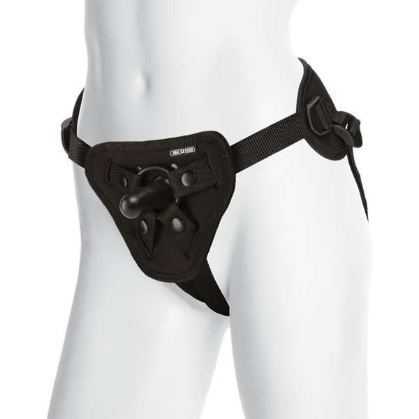 Vac-U-Lock Platinum Edition Supreme Harness With Plug