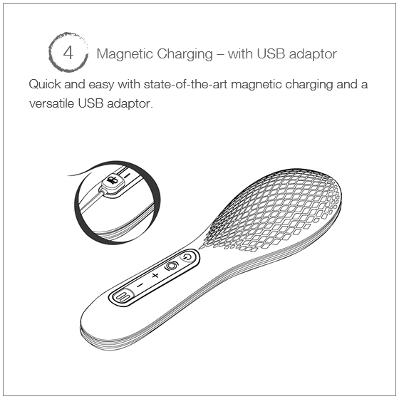 Queen Bee - Magnetic Charging - with USB adaptor