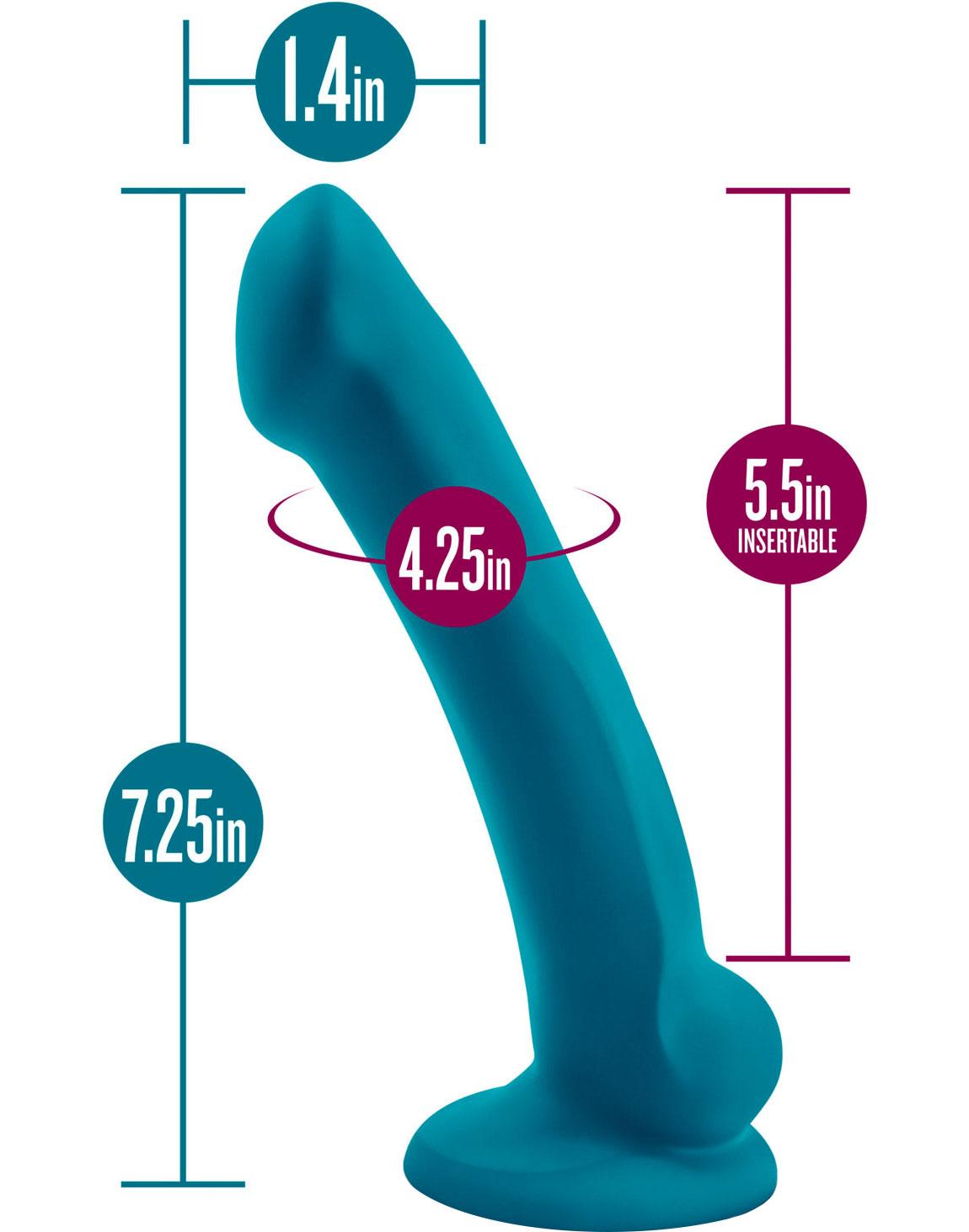 Temptasia Reina Silicone Dildo - Measurement