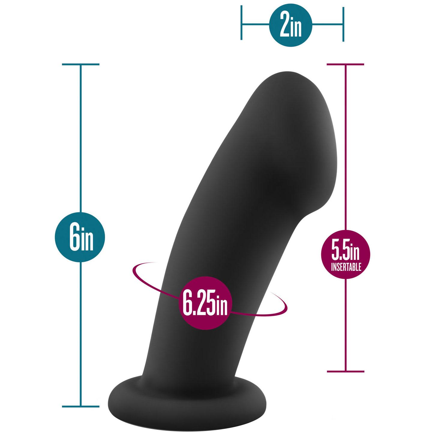 Temptasia Elvira Silicone Dildo - Measurement