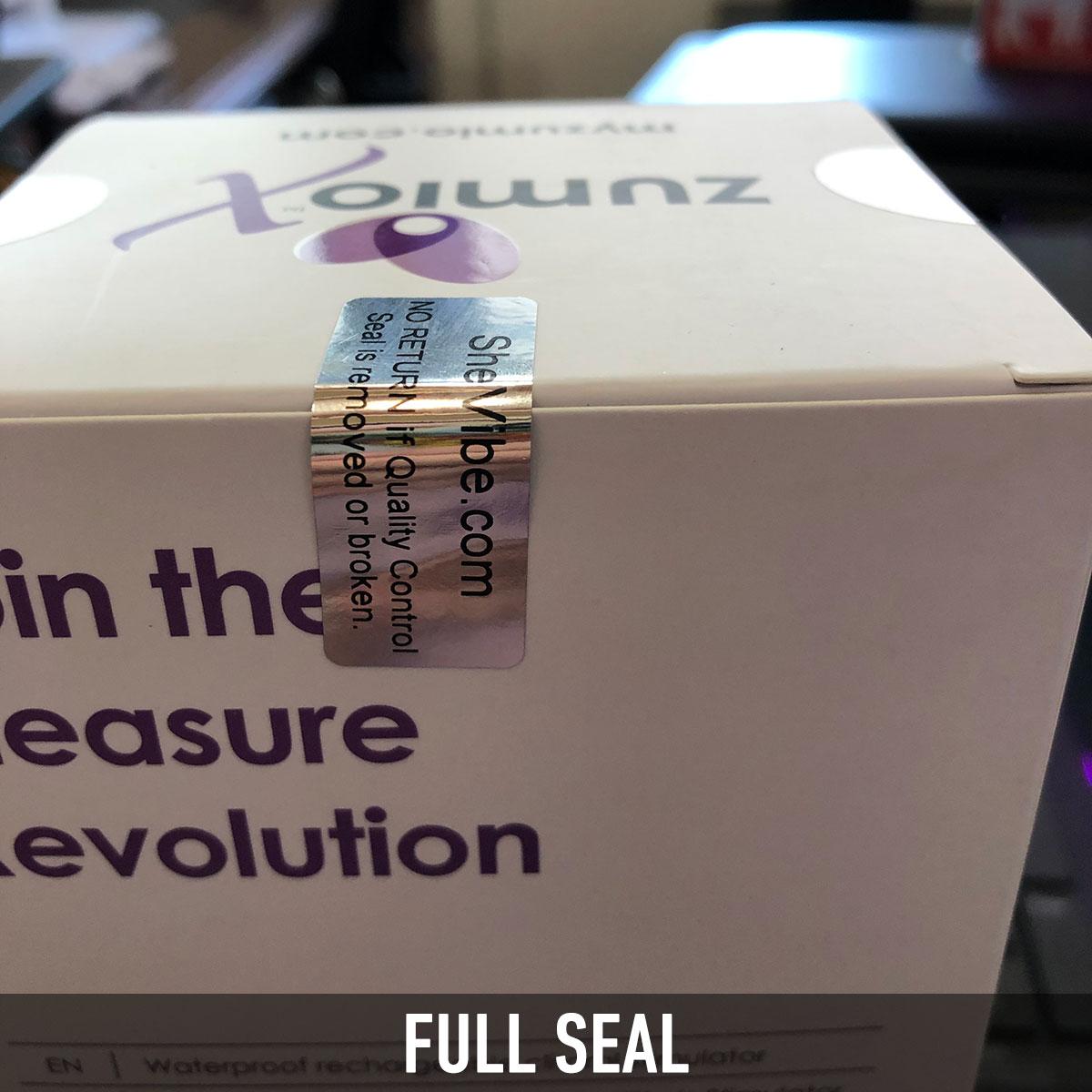 Security Seal - Full Seal
