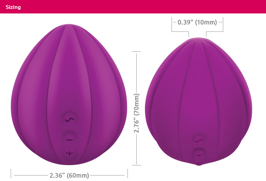 Jimmyjane Love Pods Om - Sizing