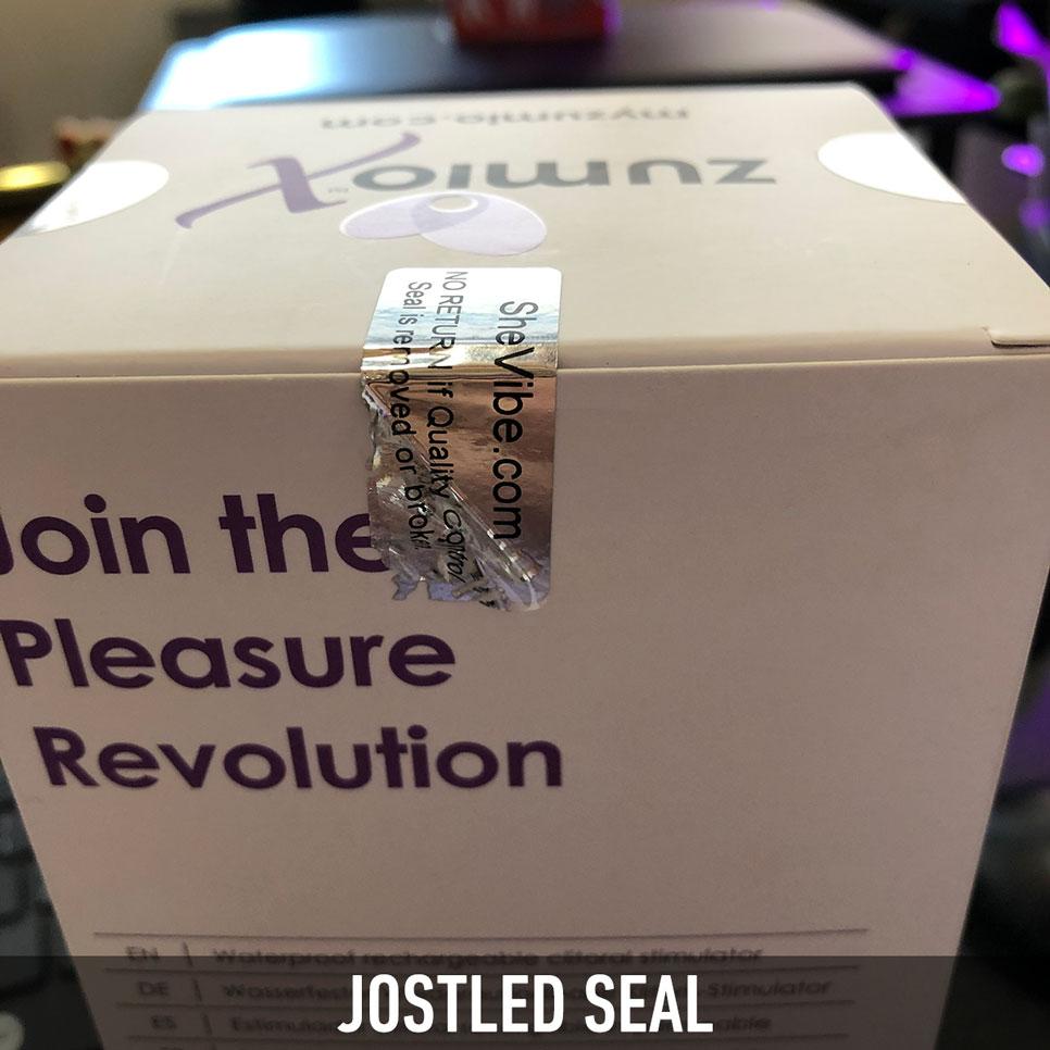 Security Seal - Jostled Seal