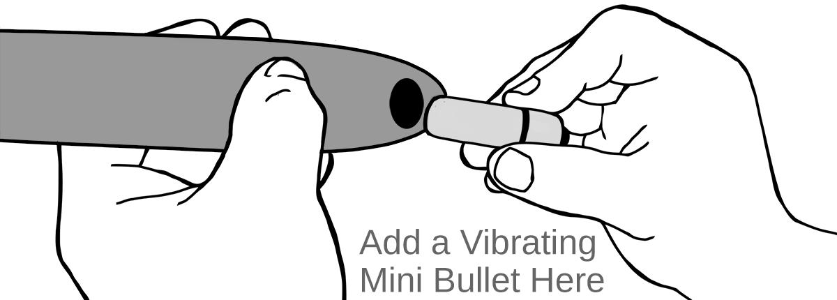 Add a Vibrating Mini Bullet Here