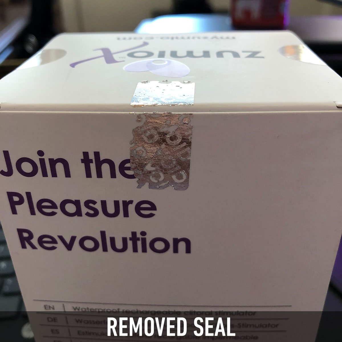Security Seal - Removed Seal