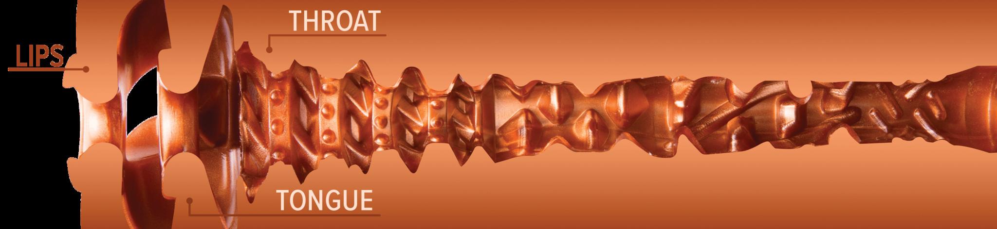 Fleshlight Turbo Thrust Copper - Texture Detail