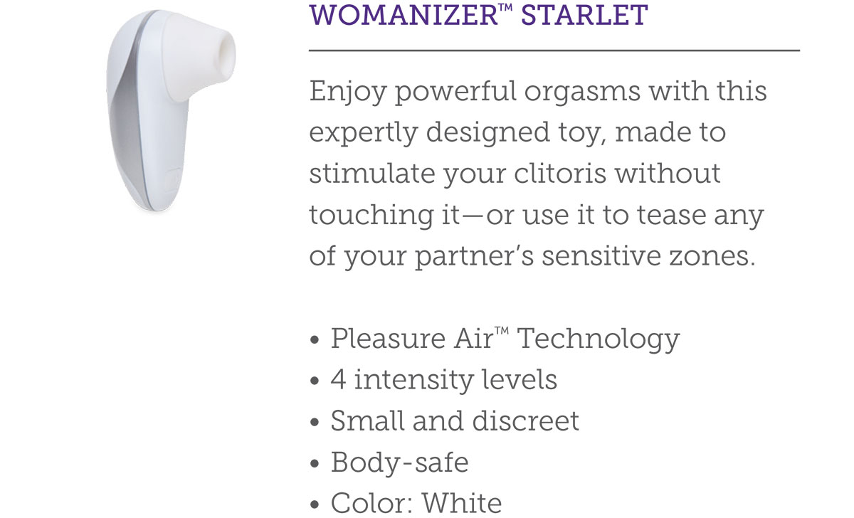 WOMANIZER™ STARLET